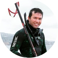 Jon Spearfishing Headshot