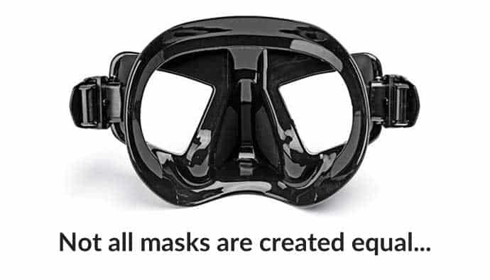 Freediving Mask Materials