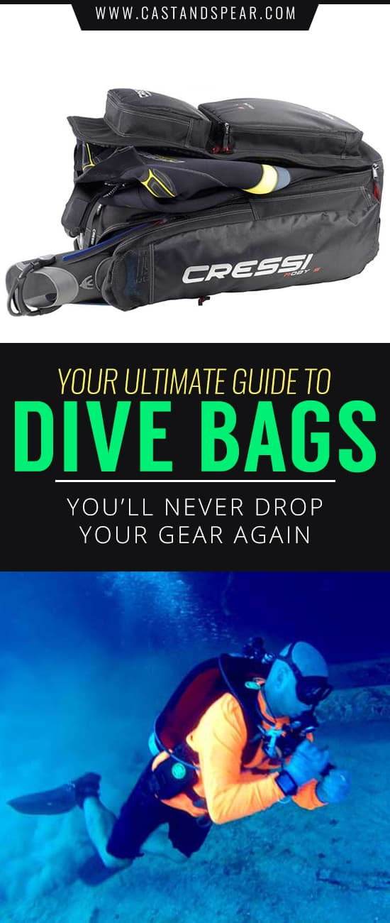 Don't make the mistake of not having a dive bag. Too many times you'll inadvertently damage your gear if it's exposed. Our buyer's guide will tell you what you need to know to pick the right one!