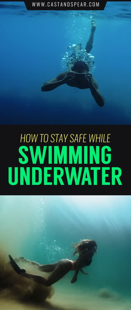 Swimming underwater is a joyous activity where you can feel like you're flying on Earth. However, if you're not careful you could injure yourself. We've put together a guide of best practices to stay safe while swimming. #swimmingunderwater #diving #freediving