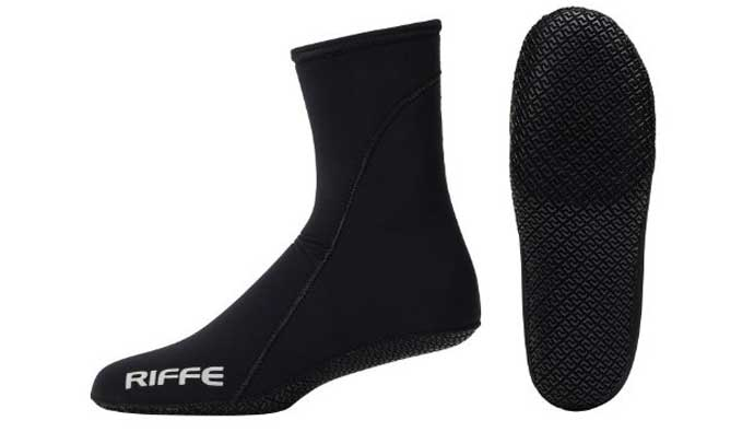 riffe freediving socks