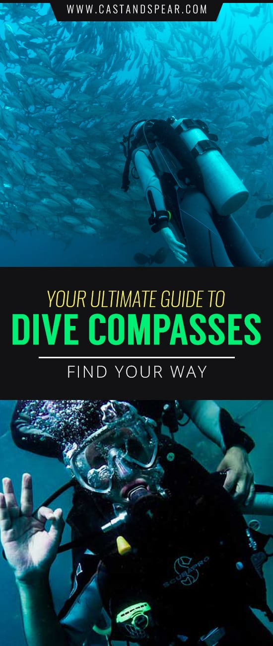 Your dive compass will help you find your way underwater. Don't get lost, it's dangerous down there. Our buyer's guide will tell you what you need to know!