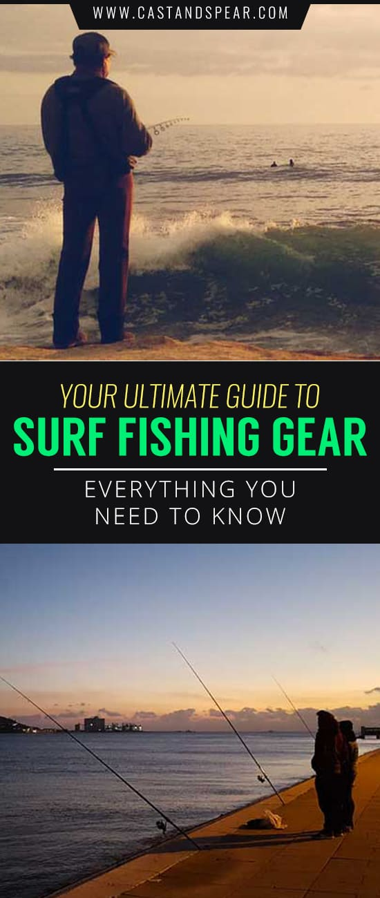 Surf fishing is arguably the most fun cast based fishing around. This guide shows you everything you need to get started today. #surffishing #surffishinggear #saltwaterfishing