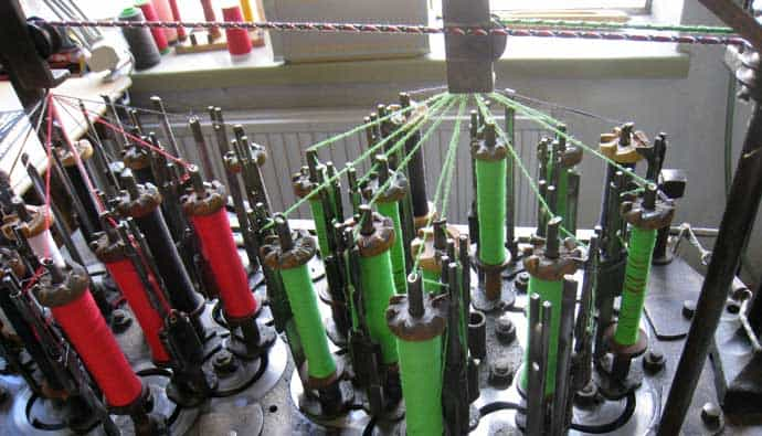 braided line braiding machine