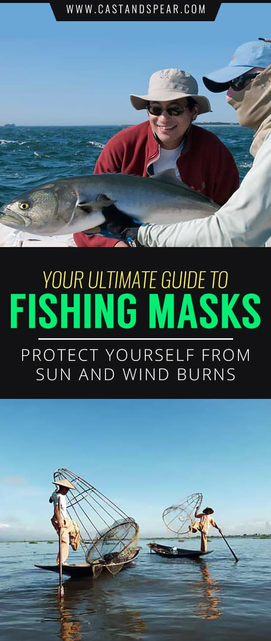 There's nothing worse than coming home after a great day of fishing and finding your face charred from the sun and wind. Do your skin a favor and use our guide to show you which fishing mask is best. #fishingmask #sunburn #sunprotection