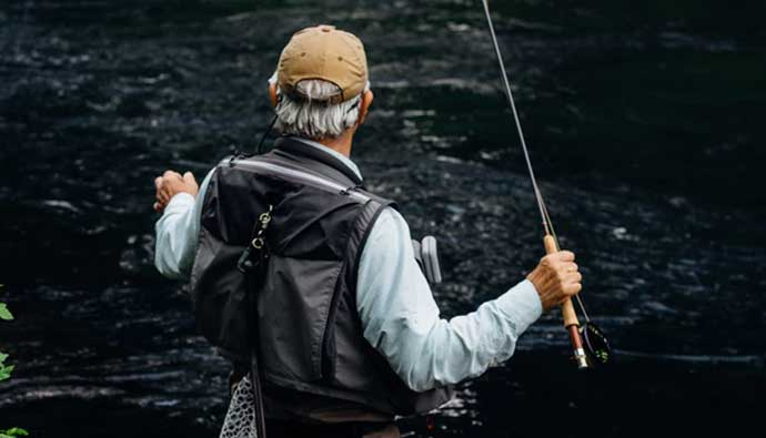 Man With the Best Fly Fishing Poles