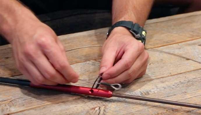Gatku Pole Spear Install Slip Tip 1