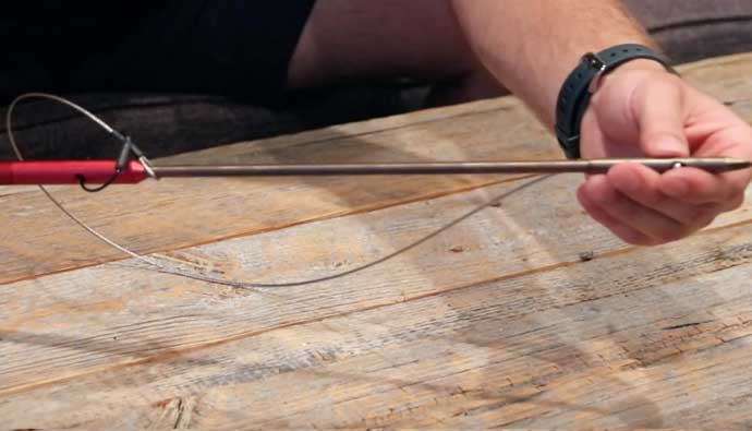 Gatku Pole Spear Install Slip Tip