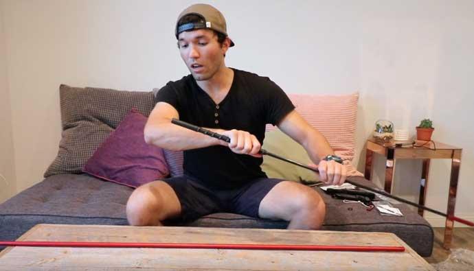Gatku Pole Spear Tener
