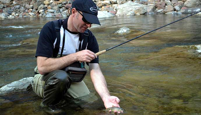 Best telescopic cane poles tenkara alternative