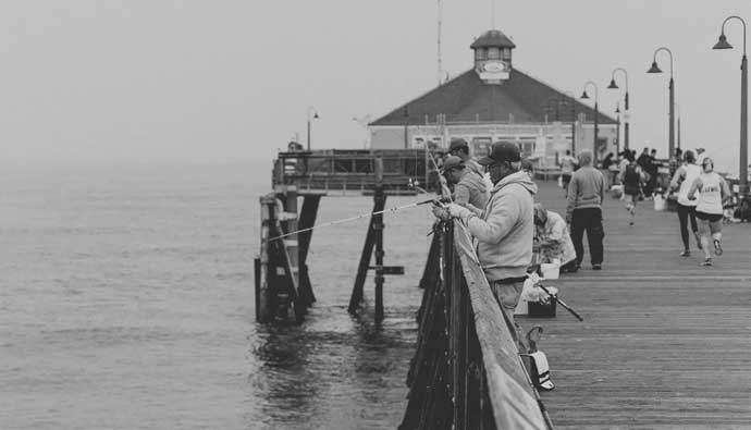pier fishing with the best saltwater spinning reels