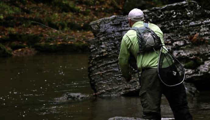fly fishing for brook trout