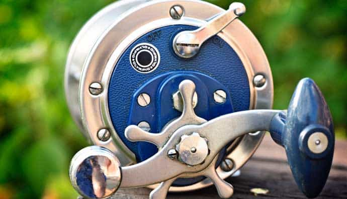 parts of a fishing reel a conventional fishing reel