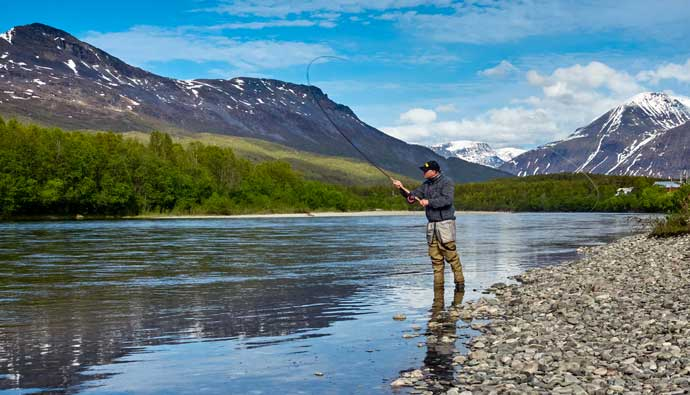 best fly fishing lodges