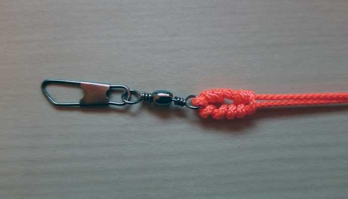 offshore swivel knot