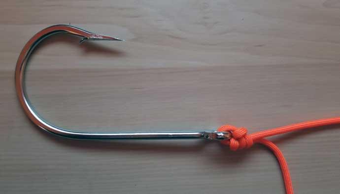 Palomar Knot Tying Instructions