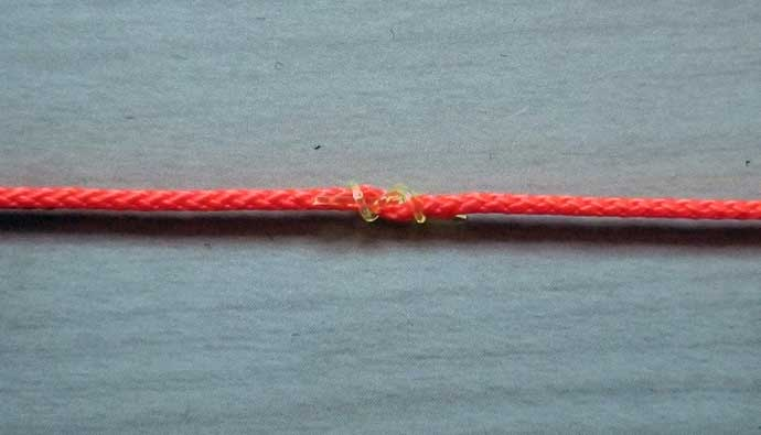 How to tie the bobber stopper knot
