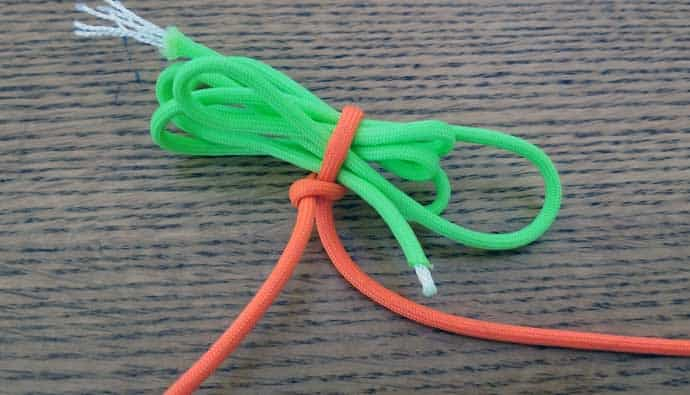 How to tie an indicator knot