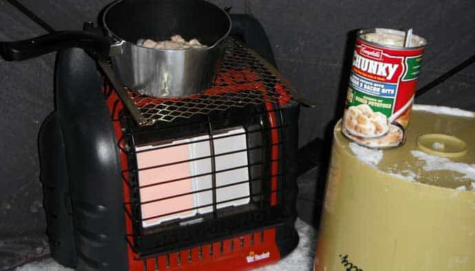 best ice fishing heaters
