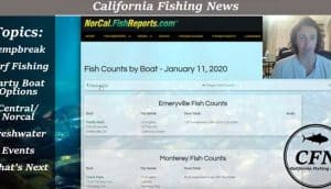 california fishing news podcast