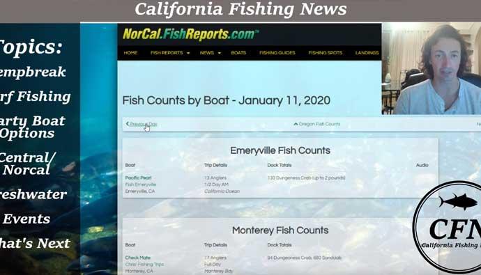 california fishing news podcast