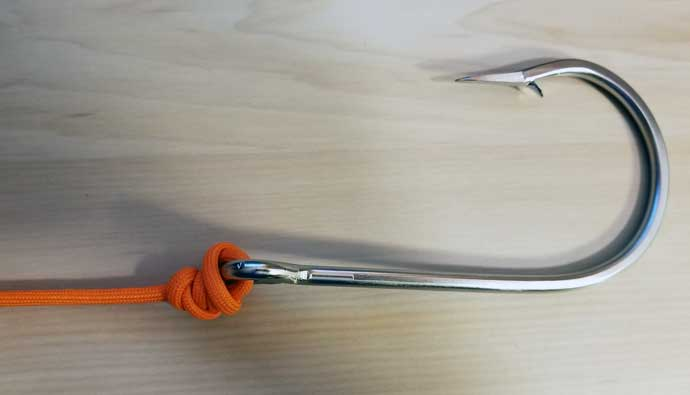 how to tie a nanofil knot