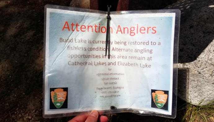 attention anglers Yosemite