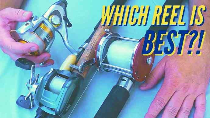 Baitcaster vs. spinning reel vs. conventional