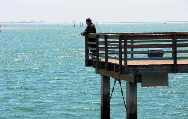 sand bass fishing spots
