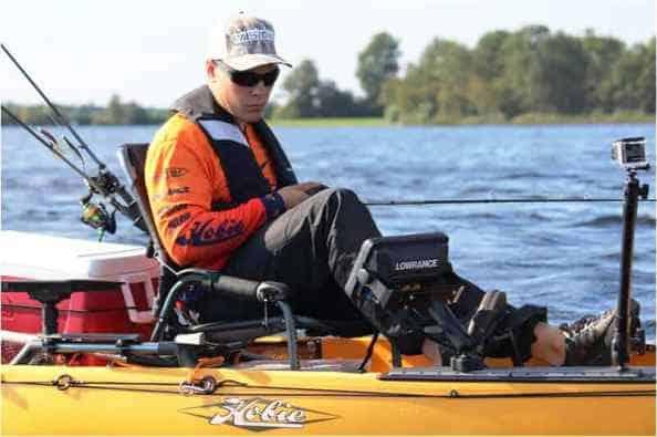 kayak fishing in winter tips