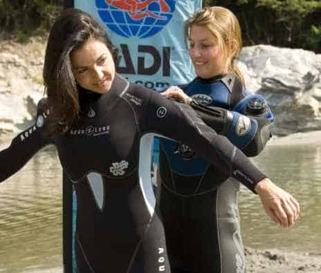 best scuba diving wetsuits