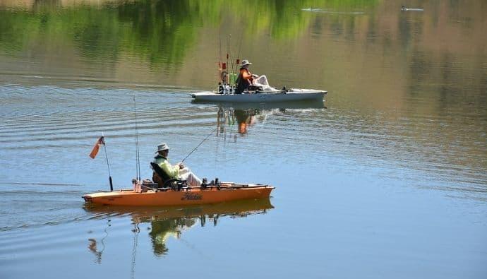 freshwater kayak fishing