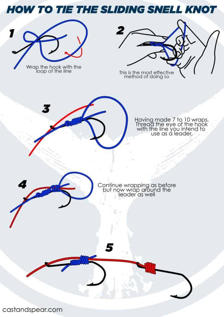 sliding snell knot