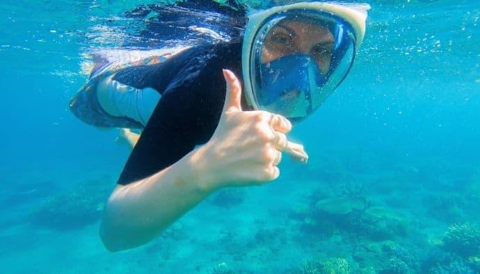 best full face snorkel mask