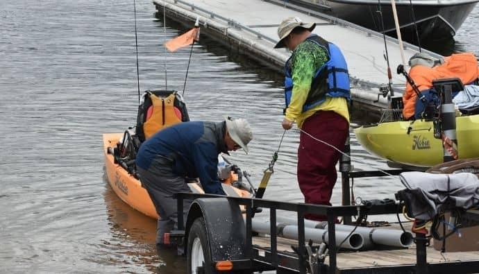 kayak fishing essentials
