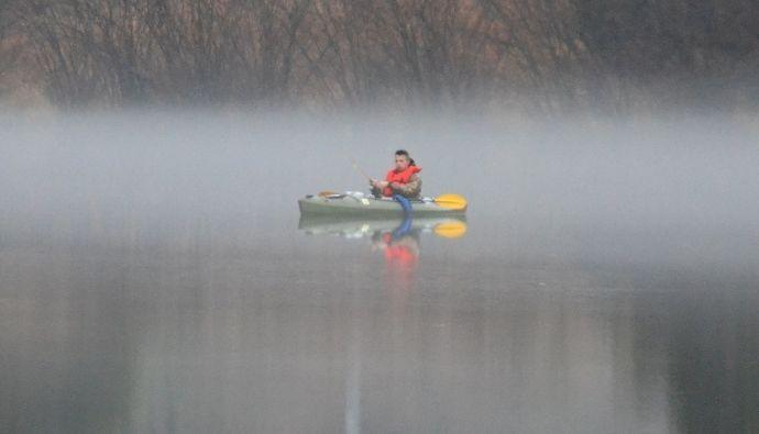 kayak fishing mods