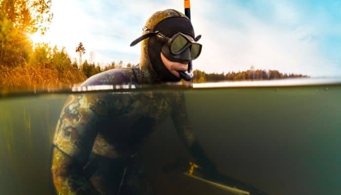 freshwater spearfishing