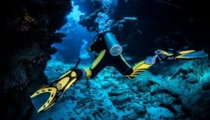 how deep can you scuba dive