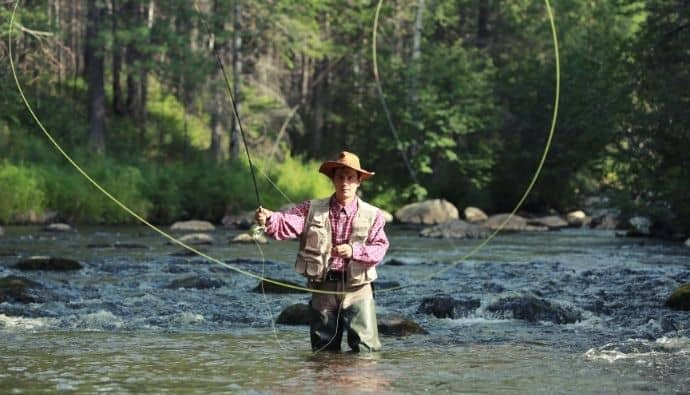 trout fishing gear
